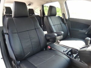 2017 Honda Cr V Clazzio Black Synthetic Leather Seat Covers