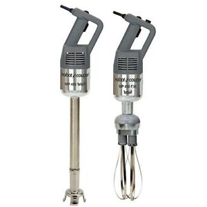 Robot Coupe Mp450combi Hand Held Stick Mixer W 18 Shaft 10 Whisk 720 Watts