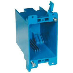 1 gang 20 Cu In Blue Pvc Old Work Electrical Switch And Outlet Box
