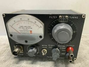 Gr General Radio 1232a Tuned Amplifier Null Detector 1232 a Cool Nice Vintage