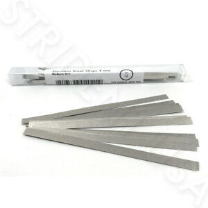 Stainless Steel Metal Dental Polishing Strips Multiple Sizes Quantities