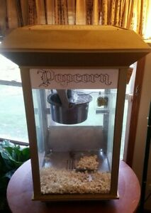 Vintage Gold Medal Products gay 90 s Deluxe Pinto Pop Popcorn Machine