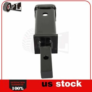 Tow Trailer Hitch Receiver Adapter Extend Towing Hitch Tool 1pcs