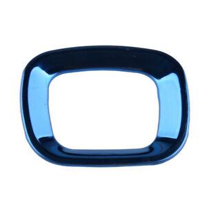 Blue Steering Wheel Emblem Cover Trim Frame Fit For Honda Accord 10th 2018 19 20