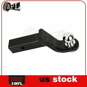 4 Drop Trailer Hitch For 2 Receiver Ball Mount W 2 Ball