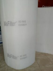 Msfilter Spray Paint Booth Ceiling Filters 60 x 168 1 Pack Customized Size