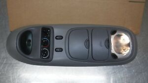 Ford Excursion Overhead Top Roof Console Map Light Display Grey Gray