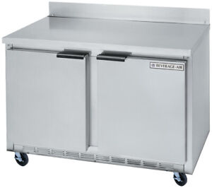 Beverage air Wtr48ahc 11 82 Cuft 48 Wide Two Section Work top Refrigerator