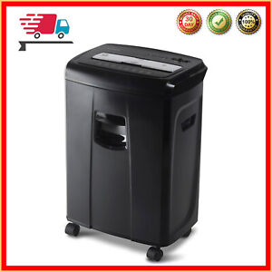 Industrial Heavy Duty Document Shredder Crosscut Paper Credit Card Multipurpose