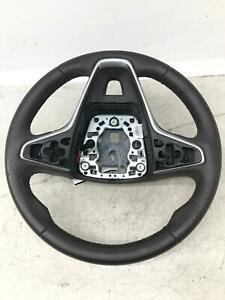 2014 2017 Buick Regal Steering Wheel W o Collision Alert Cocoa Leather Oem note