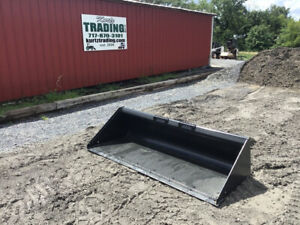 2020 New Bobcat 80 Quick Attach Gp Bucket For Skid Steer Loaders