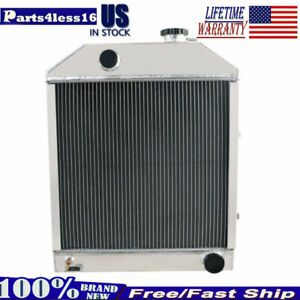 C7nn8005h Fit Ford New Holland 2000 2600 3000 3600 Aluminum Tractor Radiator