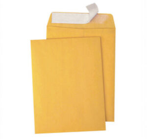 40 Kraft Catalog Envelopes 6 X 9 Mailers With Gummed Flap 6 By 9 Side Seal