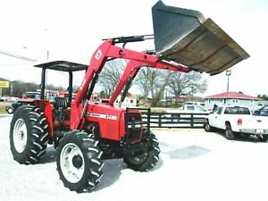 2003 Massey Ferguson 471 Loader 4x4 755 Hrs free 1000 Mile Delivery From Ky