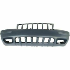 New Ch1000266 Front Bumper Cover For Jeep Grand Cherokee 1999 2000