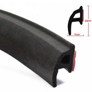 4m P Car Door Auto Noise Universal Rubber Edge Seal Weather Strip Weatherstrip