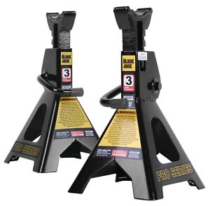 6000 Lb 3 Ton Jack Stands Pair For Garage Car Truck Lift Tire Change Lifting New