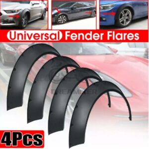 4 3 0 80mm Universal Flexible Flares Car Fender Extra Wide Body Wheel Arches