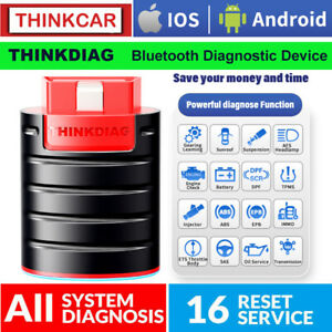 Thinkdiag X431 Pro Car Obd2 Scanner Bidirectional Diagnostic Tool Ecu Key Coding