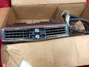 Vintage Factory Dealer Accessories Chevrolet Under The Dash Ac Unit Nos 1967 Gm