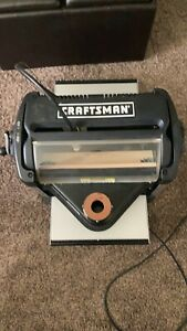 Craftsman Compucarve Wood Plastic Carving Cnc Machine With Stand