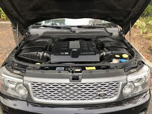 Engine 5 0l With Supercharged Vin E Fits 10 13 Range Rover Sport