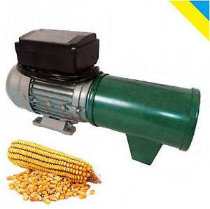 Electric Feed Mill Grinder Corn Flakes Crusher 220v Eu Plug Productivity 75 Kg h
