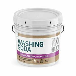 Natural Washing Soda 1 Gallon Sodium Carbonate Soda Ash Stain Remover Water S