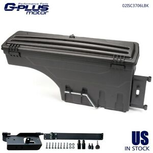 Rear Truck Bed Storage Box Toolbox Left Side For 02 18 Dodge Ram 1500 2500 3500