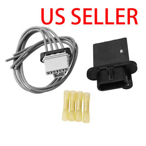 For 05 14 Toyota Tacoma Blower Motor Resistor Kit W Harness 8713804050 973 582
