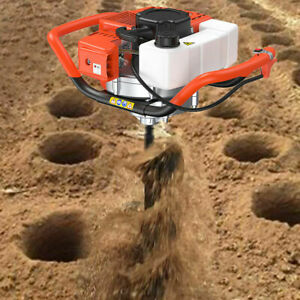 52cc 2 stroke 2 5hp Earth Auger Power Head Gas Powered Post Hole Digger Machine