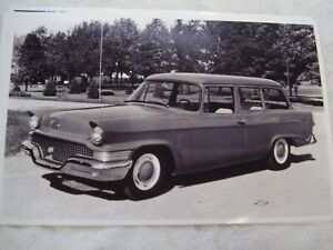 1958 Studebaker Station Wagon 11 X 17 Photo Picture