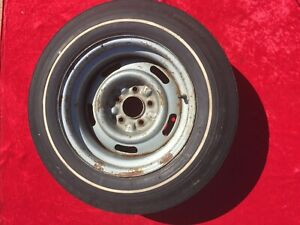 Original 1969 Chevy Corvette 15x8 Rally Wheel Rim K19 Code 427 Rare