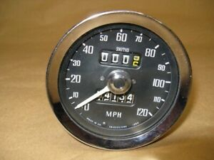 Mg Smith Speedometer Sn5230 06s For 1972 74mgb Mgbgt Refurbished