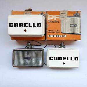 Ferrari 365bb 512bb Lamborghini Countach Carello Fog Lights Nickel Italy