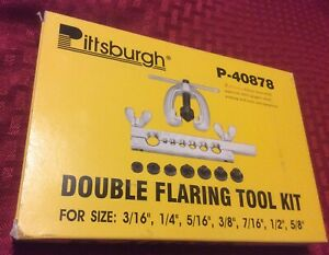 Double Flaring Tool Kit Preowned