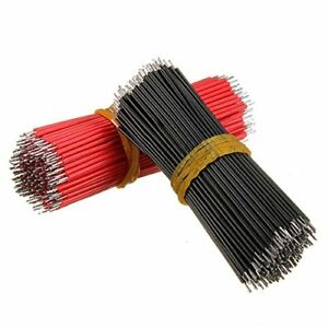 200pcs Jumper Cable Breadboard Solderless Electric Wire Test Wire 8 Cm