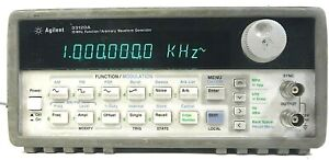 Agilent 33120a 15 Mhz Function Arbitrary Waveform Generator Free Shipping