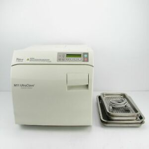 Midmark Ritter M11 Ultraclave Automatic Sterilizer W Trays 370 Cycles M11 022
