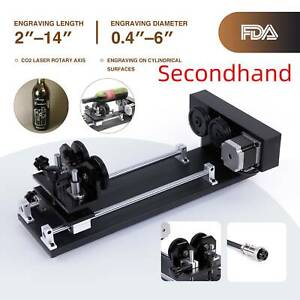 Secondhand Rotary Axis Attachment 20 x12 28 x20 50w 60w 80w Co2 Laser Engraver
