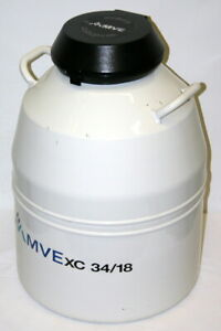 Mve Liquid Nitrogen Freezer Dewar Cryostorage Tank Model Xc 34 18