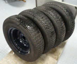 Mercedes Benz 170 S W 136 220 W 187 Set Tyre With Rim 15 Inch