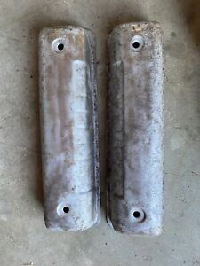 1957 Ford 292 Y Block Valve Covers Paintable Lot B019