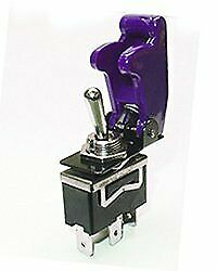 Safety Toggle Switch Spdt 20 Amp purple