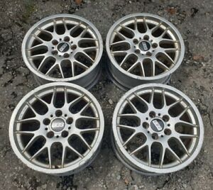 Jdm Bbs Rx 204 17 Wheels For Bmw E24 E34 E32 E36 E39 Ac Rx204