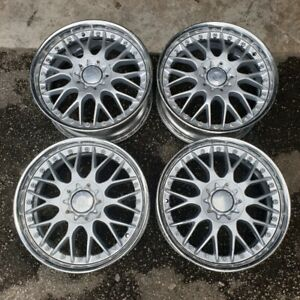 Jdm 17 Work Europe Mesh Wheels For Sxe10 Dc2 Z32 Z31 240sx 180sx S13