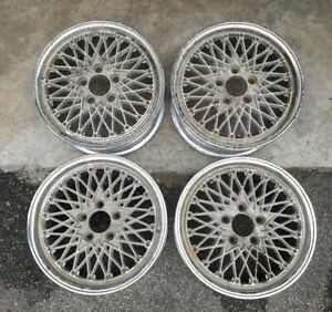 Jdm 16 Ssr Reverse Mesh Wheels For Sxe10 Dc2 Z32 Z31 240sx 180sx S13 Rs Rs2