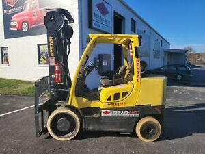 2008 Hyster S155ft Cushion Tire Forklift With 3 Stage Mast