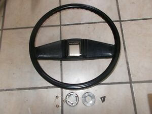 73 87 Chevy Silverado Gmc Blazer Steering Wheel Black Oem