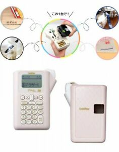 Brother Pt j100p Label Maker P touch J100 Pink Label Width 3 5 12mm From Japan